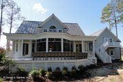 Country Style House Plan - 4 Beds 3 Baths 2693 Sq/Ft Plan #929-699 Exterior - Rear Elevation