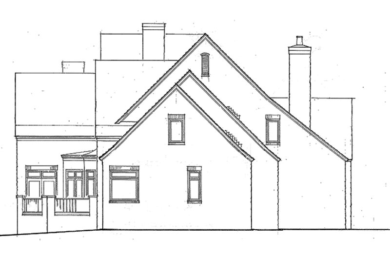 Country Exterior - Other Elevation Plan #453-238 - Houseplans.com