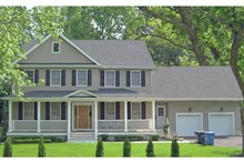Dream House Plan - Traditional Exterior - Front Elevation Plan #1053-59