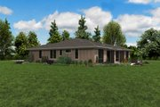 Contemporary Style House Plan - 4 Beds 3 Baths 2814 Sq/Ft Plan #48-1022