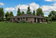 Contemporary Exterior - Other Elevation Plan #48-1022