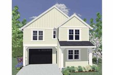 House Plan Design - Traditional Exterior - Front Elevation Plan #509-176