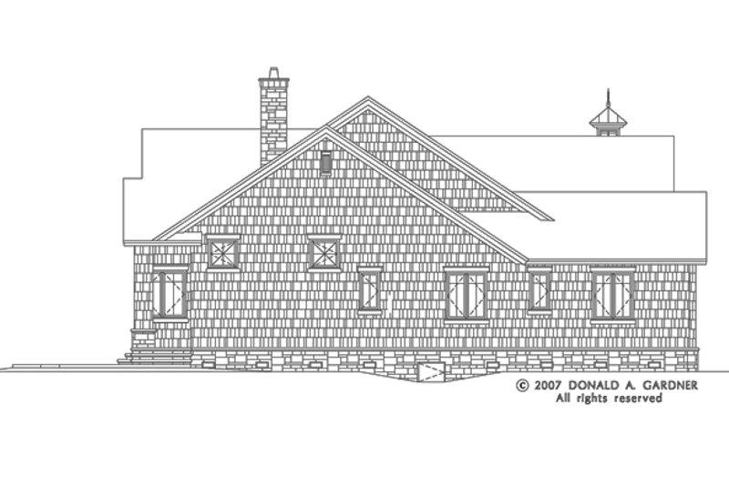 European Exterior - Other Elevation Plan #929-830 - Houseplans.com