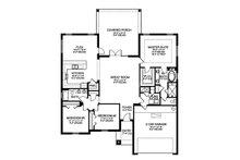 Traditional Floor Plan - Main Floor Plan Plan #1058-119