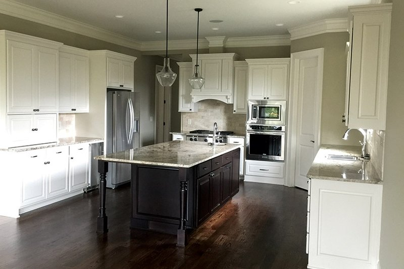 Ranch Interior - Kitchen Plan #437-71 - Houseplans.com