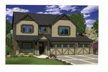 Craftsman Exterior - Front Elevation Plan #943-34