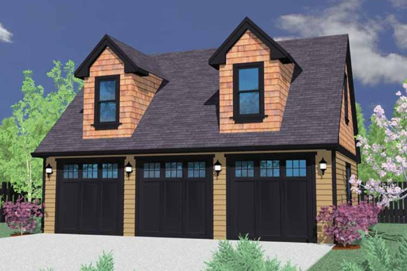 Traditional Exterior - Front Elevation Plan #509-400