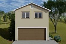 Dream House Plan - Traditional Exterior - Front Elevation Plan #1060-84