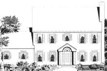 Colonial Exterior - Other Elevation Plan #3-213