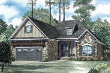 Home Plan Design - European Exterior - Other Elevation Plan #17-2453