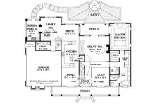 Country Floor Plan - Main Floor Plan Plan #929-36