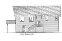 Home Plan - Bungalow Exterior - Other Elevation Plan #117-571