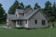 Craftsman Style House Plan - 4 Beds 2.5 Baths 3314 Sq/Ft Plan #1070-64 Exterior - Other Elevation