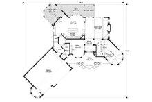 Traditional Floor Plan - Main Floor Plan Plan #56-600