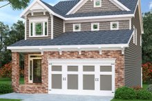 Traditional Exterior - Front Elevation Plan #419-222