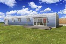 Modern Exterior - Front Elevation Plan #497-27