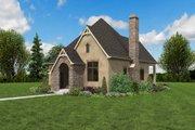European Style House Plan - 1 Beds 1 Baths 960 Sq/Ft Plan #48-1012