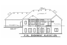Home Plan - European Exterior - Rear Elevation Plan #20-1820