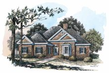 Home Plan Design - Colonial Exterior - Front Elevation Plan #429-225