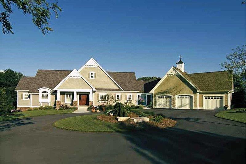 House Plan Design - Craftsman Exterior - Front Elevation Plan #928-48