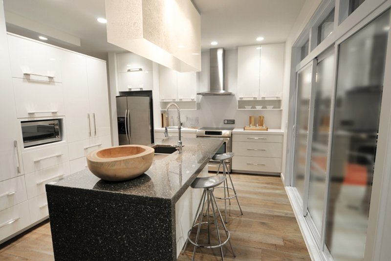 Contemporary Interior - Kitchen Plan #23-2554 - Houseplans.com