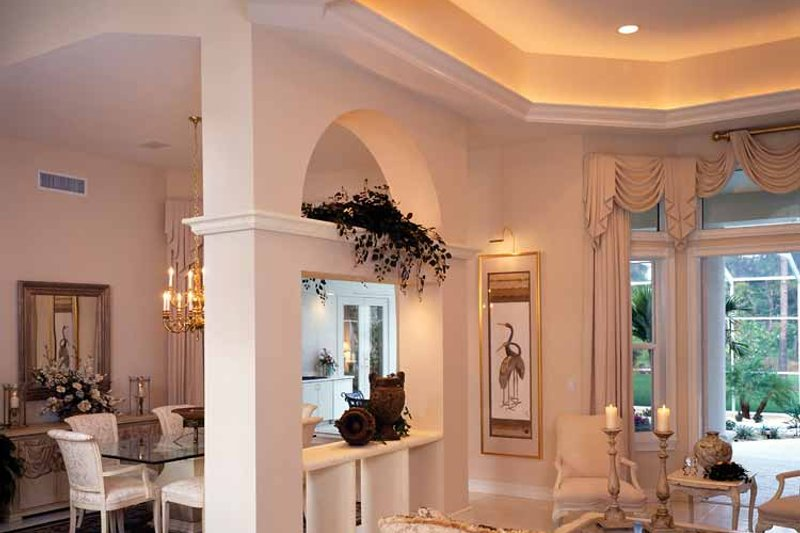 Mediterranean Interior - Dining Room Plan #930-24 - Houseplans.com