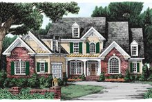 Home Plan - Traditional Exterior - Front Elevation Plan #927-101