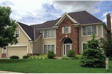 House Plan Design - European Exterior - Front Elevation Plan #51-943