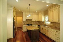 House Design - Country Interior - Kitchen Plan #928-96