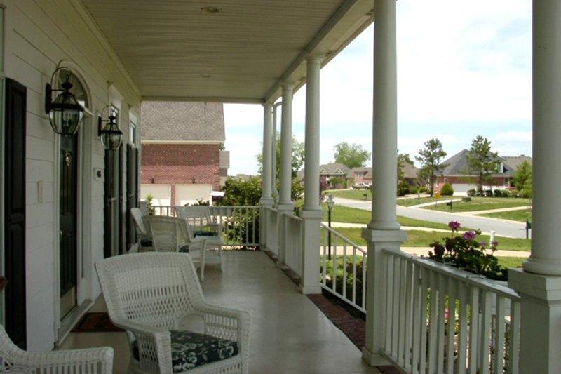 Classical Exterior - Front Elevation Plan #137-298 - Houseplans.com
