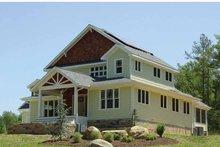 Architectural House Design - Craftsman Exterior - Front Elevation Plan #939-1