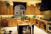 Mediterranean Style House Plan - 4 Beds 6.5 Baths 5265 Sq/Ft Plan #930-190 Interior - Kitchen