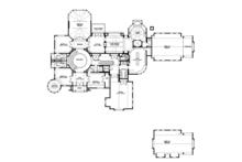 Craftsman Floor Plan - Upper Floor Plan Plan #132-565