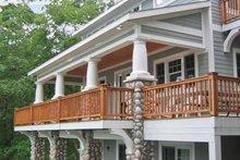 House Plan Design - Bungalow Exterior - Rear Elevation Plan #928-195