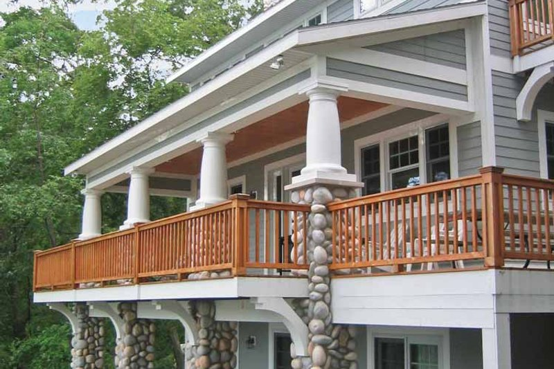 Bungalow Exterior - Rear Elevation Plan #928-195 - Houseplans.com