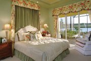 Mediterranean Style House Plan - 3 Beds 3 Baths 2885 Sq/Ft Plan #930-326 Interior - Master Bedroom