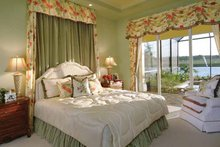 Architectural House Design - Mediterranean Interior - Master Bedroom Plan #930-326