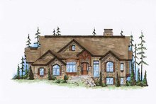 Home Plan - Traditional Exterior - Front Elevation Plan #5-360