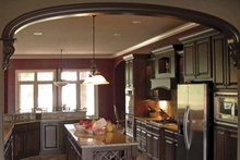 Contemporary Interior - Kitchen Plan #11-280