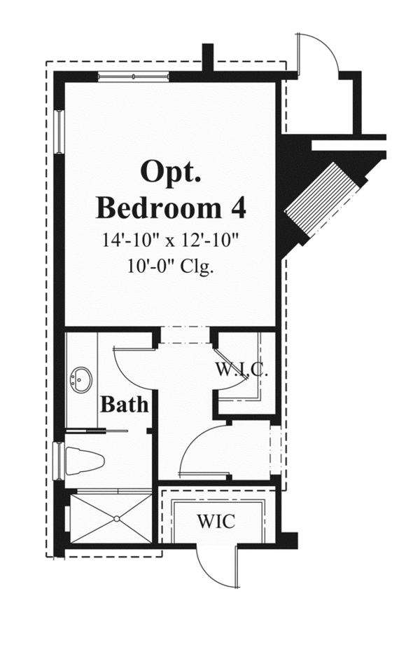 Mediterranean Floor Plan - Main Floor Plan Plan #930-447
