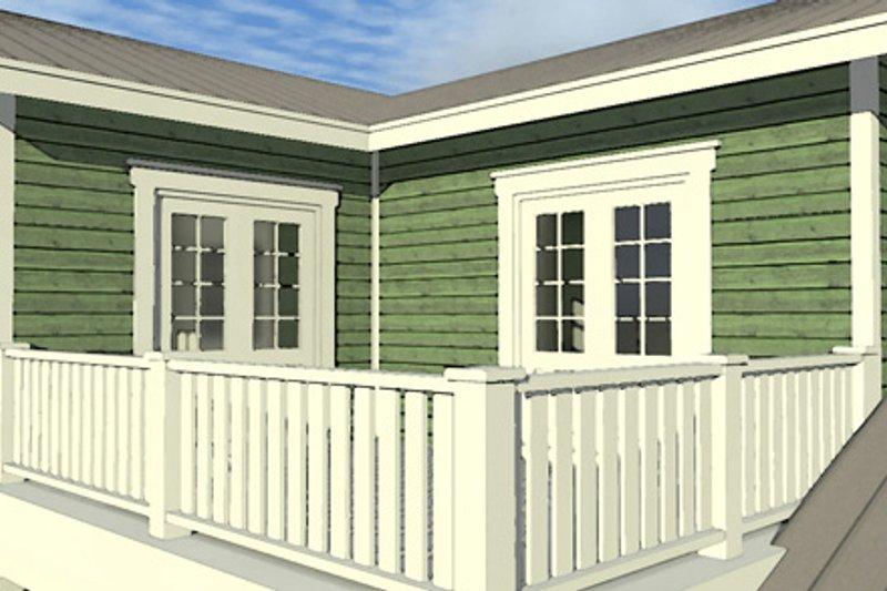 Country Exterior - Outdoor Living Plan #64-289 - Houseplans.com