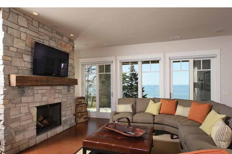 Craftsman Interior - Family Room Plan #928-175 - Houseplans.com