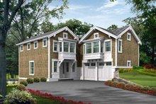 House Plan Design - Craftsman Exterior - Front Elevation Plan #132-451
