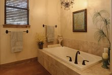 House Plan Design - Country Interior - Master Bathroom Plan #140-171