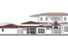 Mediterranean Exterior - Rear Elevation Plan #1058-151