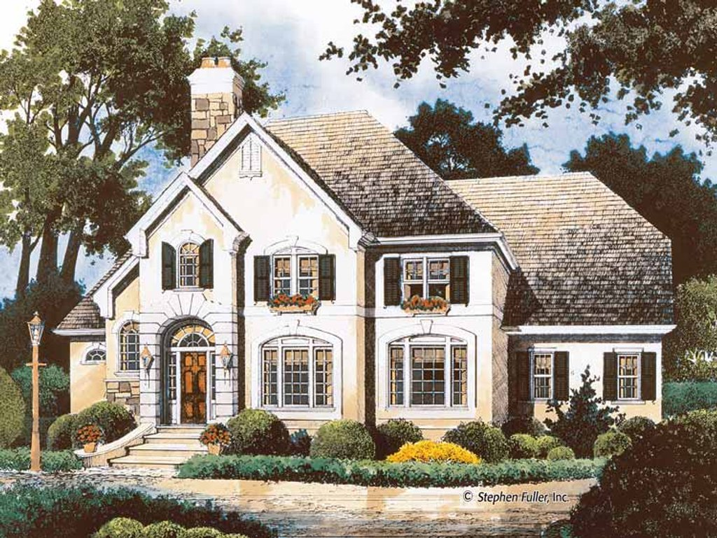 Country style house plan 4 beds 3 baths 2960 sq ft plan for 429 plan