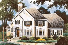 Home Plan - Country Exterior - Front Elevation Plan #429-360