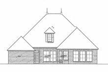 House Plan Design - European Exterior - Rear Elevation Plan #310-1255