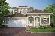 Country Style House Plan - 4 Beds 3.5 Baths 3225 Sq/Ft Plan #938-16 Exterior - Front Elevation