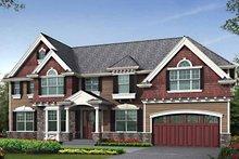 Craftsman Exterior - Front Elevation Plan #132-461